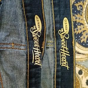 Old Navy Sweetheart straight leg jeans
